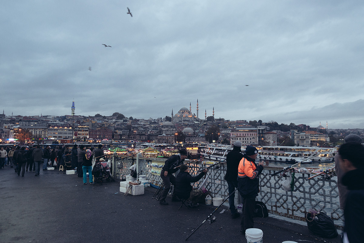 Galata Bridge Istanbul by Rob Funcken Photography