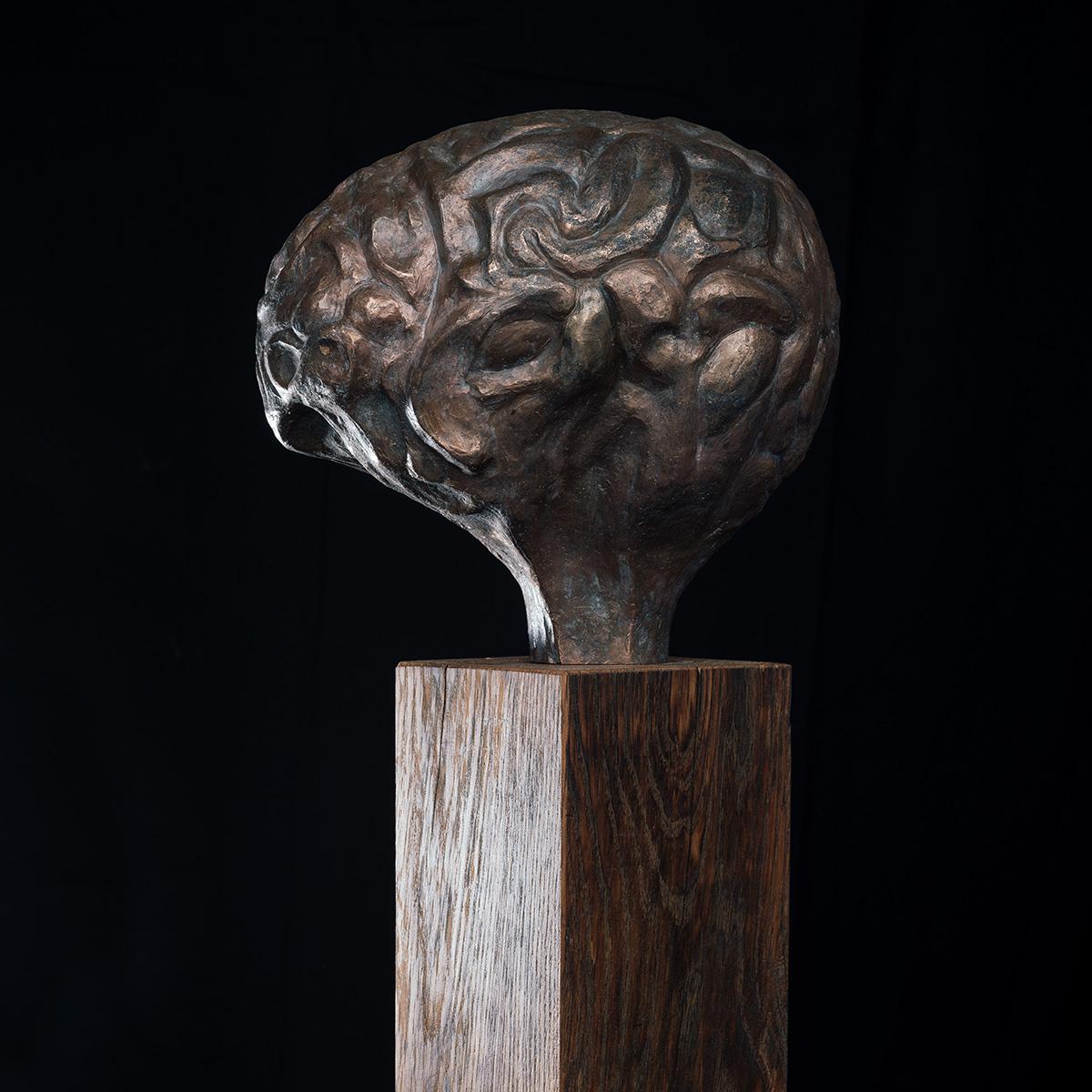 Bronze sculpture by Paul Funcken