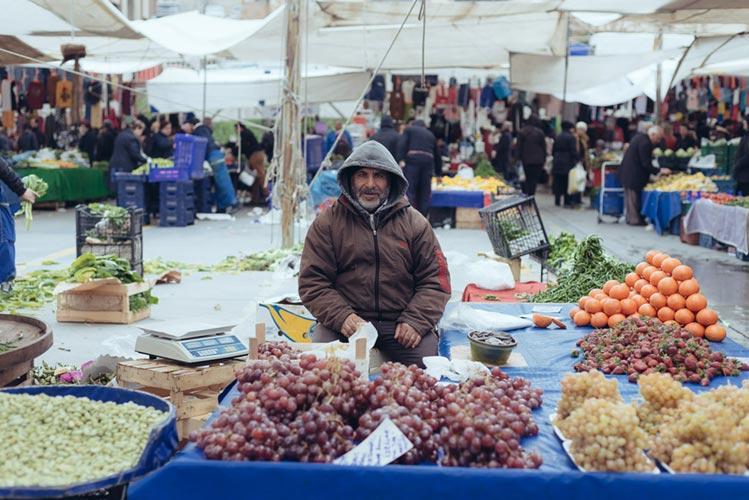 Turkish Market Istanbul by Rob Funcken