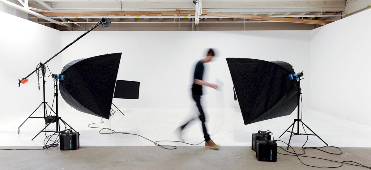 Rob Funcken in the photo studio