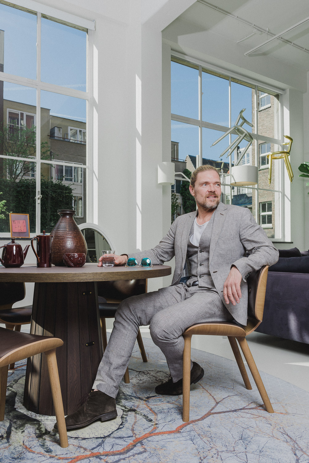 Portrait Robin Bevers CEO Moooi